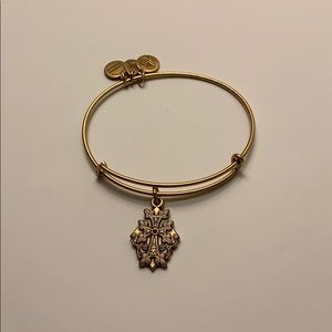 Alex and Ani Armenian Cross with Crystal